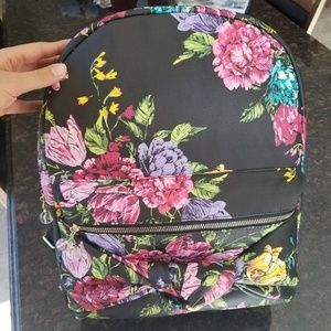 Betsey Johnson Large Floral Backpack